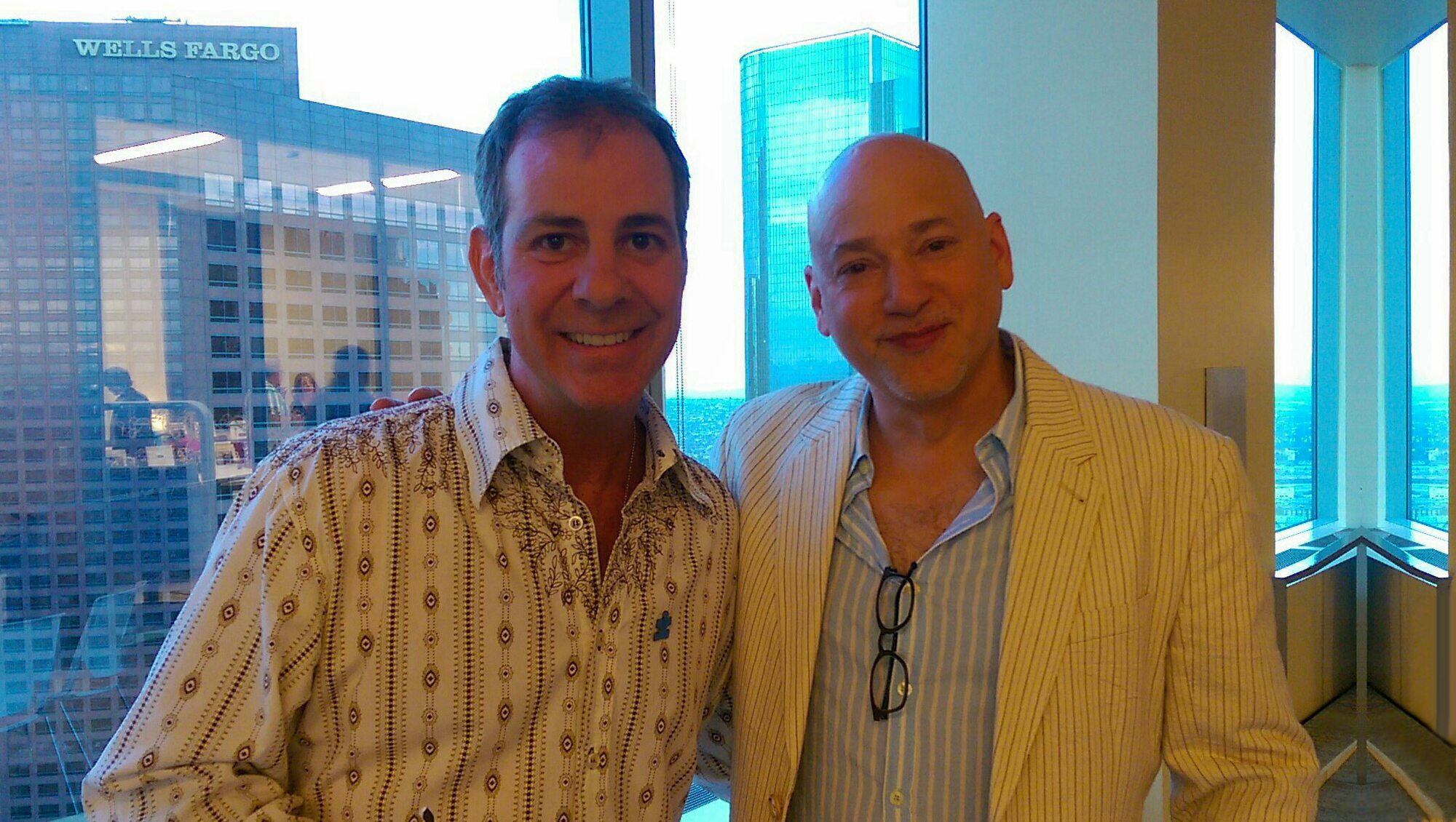 Philip Warbasse and Evan Handler